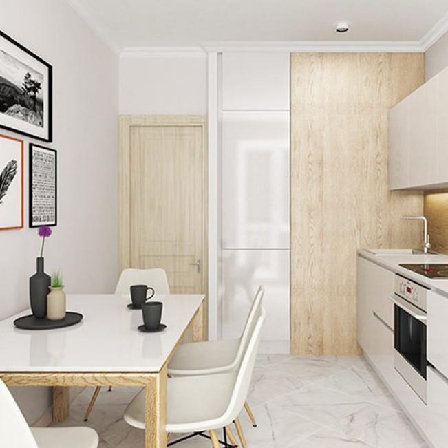 ЖК Капитан Немо, отделка, квартиры с отделкой, квартиры, комната